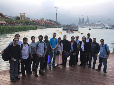 Visit by Sustainable Energy Association Trainees  and IEA-OES Island Workshop Participants hosted by Nanyang Technological University on  March 6, 2017