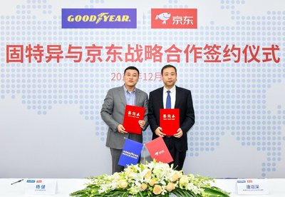 Goodyear Forges Strategic Partnership with JD.com