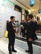 金鹿公務總裁徐立冬在頒獎典禮後接受官方採訪