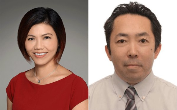 (On left) Isabella Ng, Director of Business Development for North Asia; (On right) Naoki Shimazu, Manager, Business Development for Japan and Korea