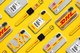 The DHL x CASETiFY Tech Capsule collection features DHL's recognizable icons which bring to mind its passion, high service quality standards, commitment to speed and can-do spirit.