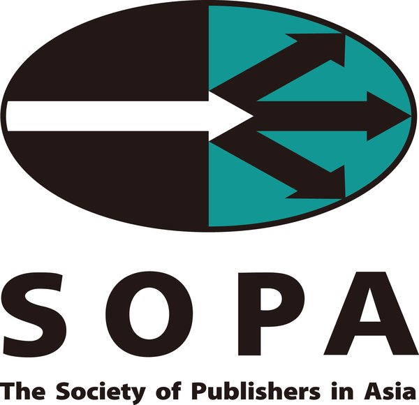 SOPA The Society of Publishers in Asia logo