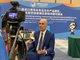 麦德龙中国总裁康德先生出席对接会并接受采访