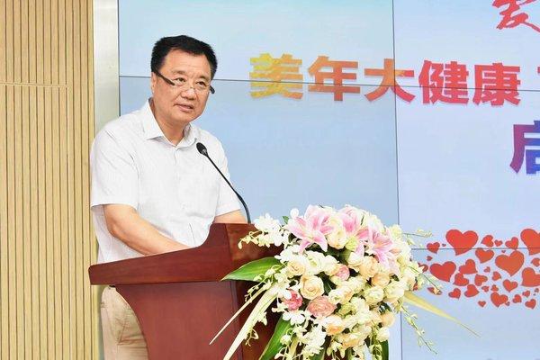 中国肢残人协会主席王建军发言