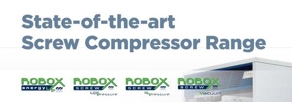 Robuschi State-of-the-Art Screw Compressor Range