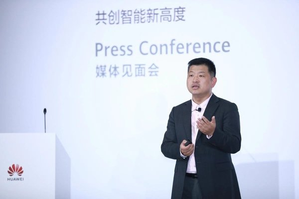 Peter Zhou, Vice President of Huawei's IT Product Line and President of Huawei's Intelligent Data and Storage Domain