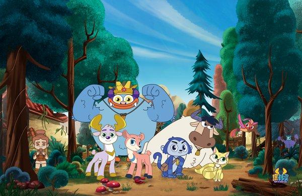 《鹿精灵》第二季《鹿精灵之寻找兵马俑》海报