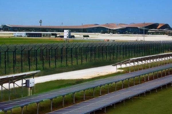 北京大兴国际机场,由华为FusionSolar供电
