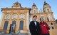 """维京旅游礼宾""""小红人""""带领薛兆丰教授游览梅尔克修道院"""