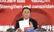 Kweichow Moutai Group chairman and party committee secretary Li Baofang