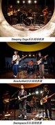Sleeping Dogs,Bowaswell和Backspace三组乐队现场表演