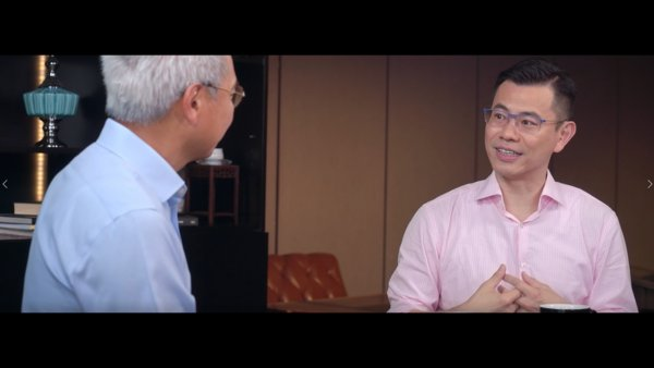 """Sammy Hsieh, Co-founder and CEO of iClick Interactive Asia Group Limited, participates in HSBC Commercial Banking Hong Kong's """"GBA+ Technology Fund"""" video series to discuss the growth prospects of new economy companies in the Guangdong-Hong Kong-Macau Bay Area."""