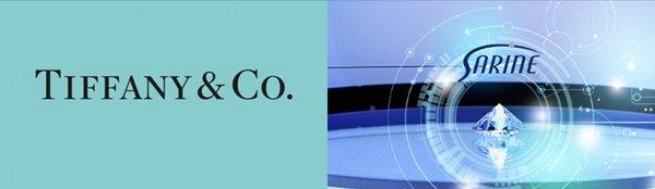 珠寶奢侈品牌TIFFANY & Co.與以色列Sarine鑽石科技集團