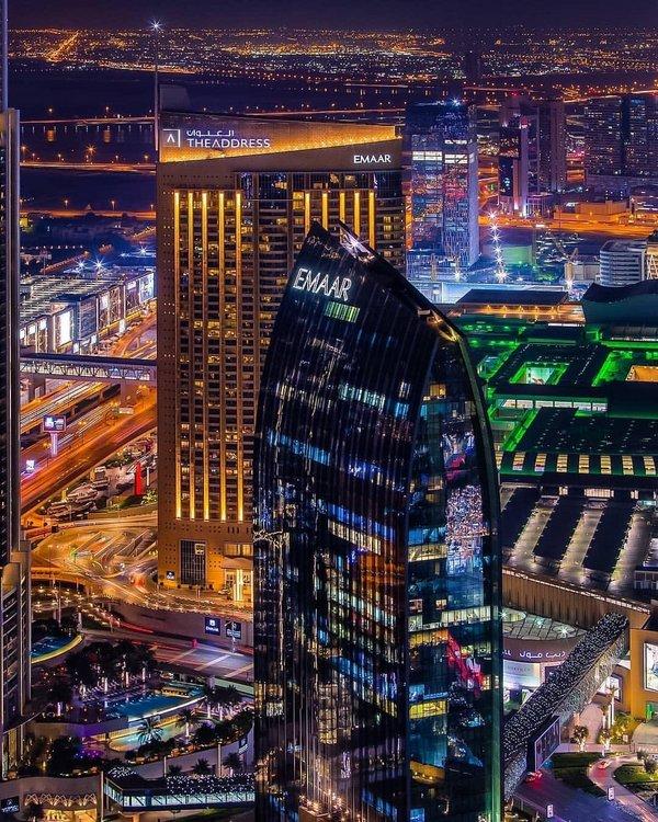 迪拜城市景观