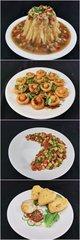 """李锦记希望厨师制作的""""土豆宴"""""""