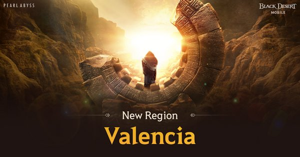New Valencia Region Arrives in Black Desert Mobile