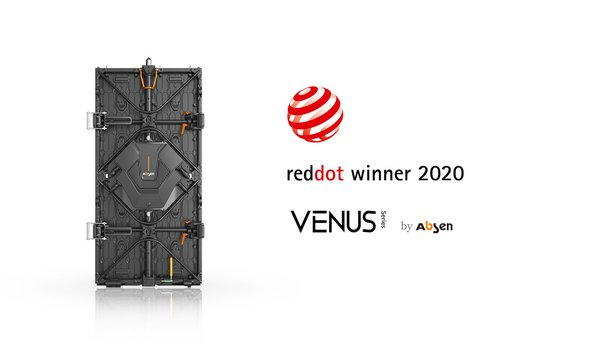Red Dot winner 2020 - Absen Venus Series