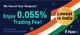 Enjoy 0.055% Trading Fee