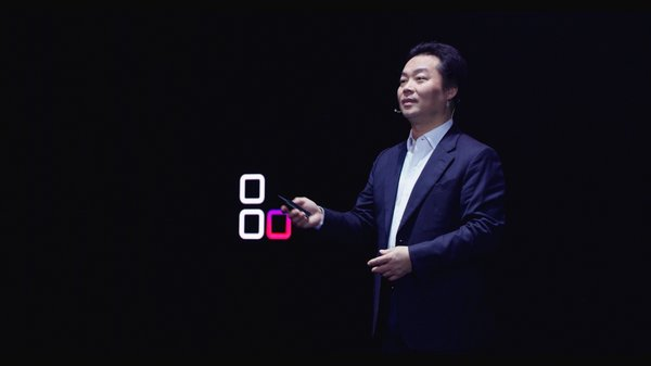 Zhang Ping'an, President of Consumer Cloud Service, Huawei Consumer Business Group, delivered a keynote Speech titled