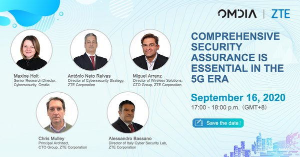ZTE and Omdia release white paper on Security Transparence and Assurance in a 5G World