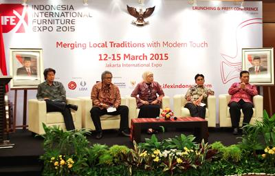 Second Edition of Indonesia International Furniture Expo, IFEX 2015, Officially Announced