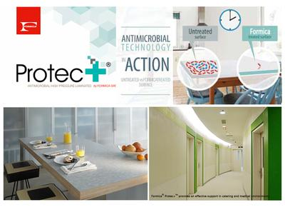 Formica Group, the global leader in decorative surfaces, today announced the launch of Protec+(TM) by Formica Group, a high performance antimicrobial laminate product.