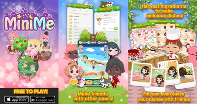 The world of Mini Me is equipped with a huge number of content customization, improved graphics and rich game visuals for gamers. Players can purchase, expand and furnish their own virtual homes, collect and store cool fashion gears.