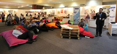 Sharing session with industry experts at Ecobuild Southeast Asia