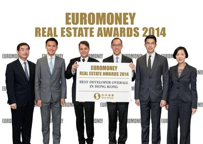 Sino Land Named 'Best Developer Overall in Hong Kong' in Euromoney's Real Estate Survey 2014
