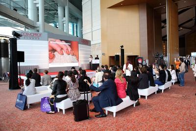 """International Nail Days"" connect nail professionals and promote knowledge exchange at the Grand Hall main stage."