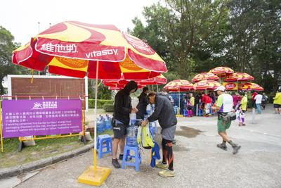 Vitasoy Support Oxfam Trailwalker with Continuous Beverage Supply