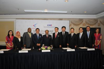 Express Rail Link & Changchun Railway Ink Agreement for Purchase of New Trains