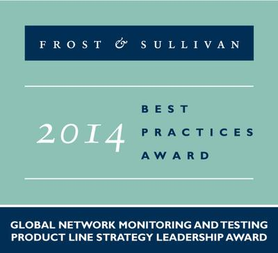 End-to-End Network Testing and Monitoring Portfolio Garners Empirix the Frost & Sullivan Award for Product Line Strategy Leadership