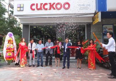 CUCKOO Electronics Opens Second 'Cuckoo Brand Shop' in Hanoi!
