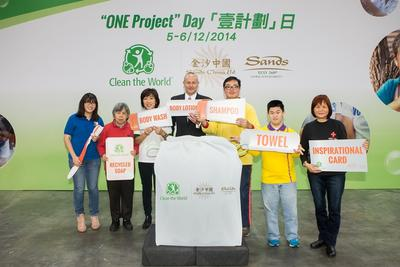 Sands China and Clean the World Come Together for