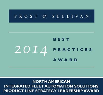 TouchStar receives the 2014 North American Integrated Fleet Automation Solutions Product Line Strategy Leadership Award