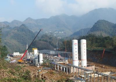 Jereh Group Operates China's First Shale Gas Liquefaction Plant