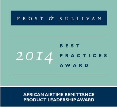 2014 African Airtime Remittance Product Leadership Award
