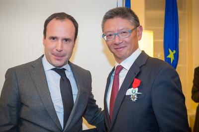 French Government Bestows Legion D'Honneur Distinction on Mr Clement Kwok