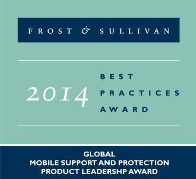 Asurion receives the Frost & Sullivan Product Leadership Award