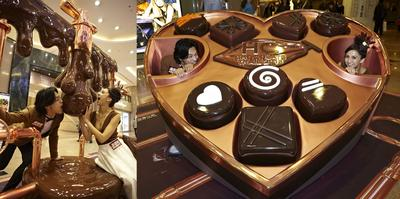 "Harbour City""Chocolate Factory"" takes visitors of all ages on an interactive step-by-step ""Bean-to-Bar"" journey"