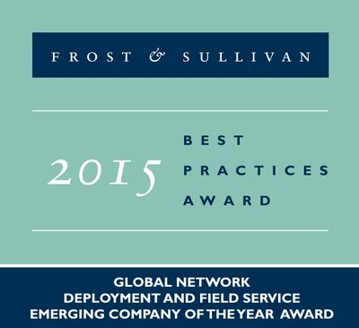 VeEx receives Frost & Sullivan Award!