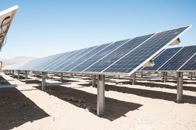 EDP Renewables' Lone Valley Solar Park