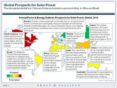 Lower Oil Price Will Not Stop the Dazzling Rise of Solar Photovoltaic