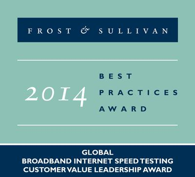 Frost & Sullivan Commends Ookla for its All-Encompassing Approach to Dealing with Customers in the Broadband Internet Speed Testing Market