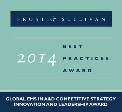 Jabil Defense and Aerospace Services recognized with the 2014 Global EMS in A&D Competitive Strategy Innovation and Leadership Award