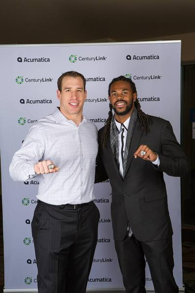 Acumatica 5.0 Launch with the SeaHawks