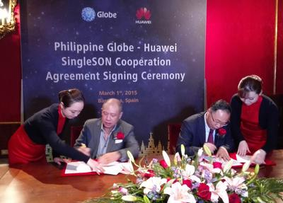 Globe Is First Operator in the World to Adopt the Huawei SingleSON Solution