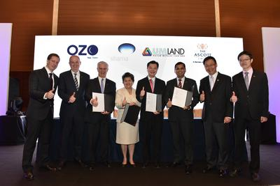 Signing Ceremony of UMLand (UMCity Medini Lakeside) with Onyx Hospitalit