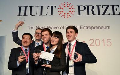 上海高级金融学院获得2015年霍特奖亚太区冠军